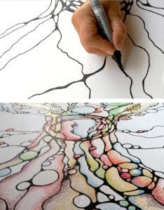 Linien und Formen